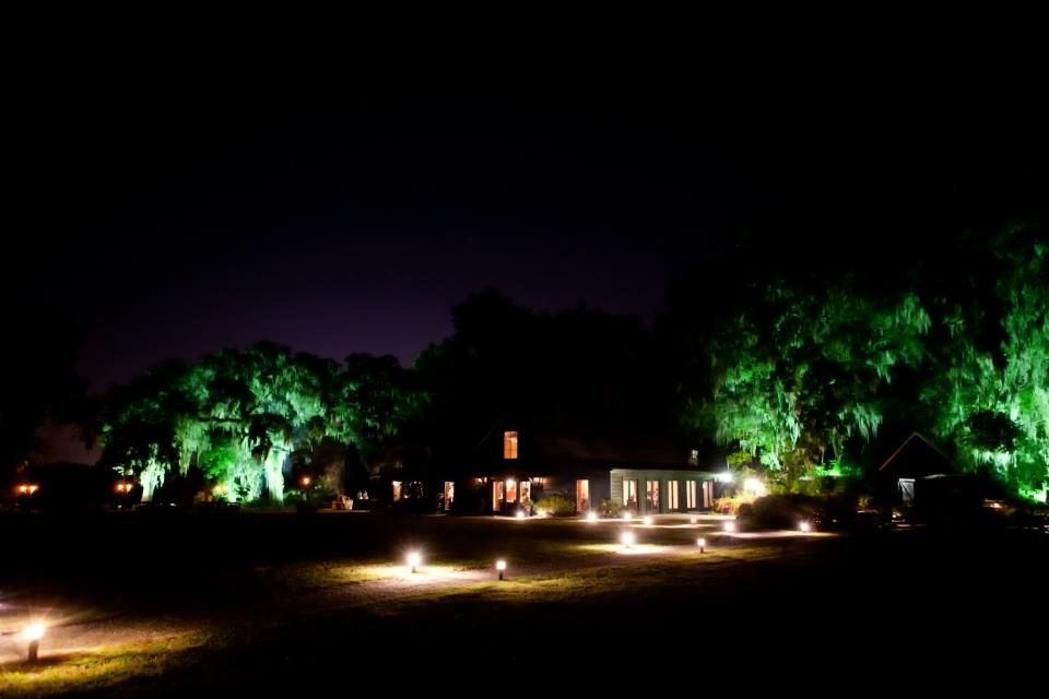 Carriage House at Night