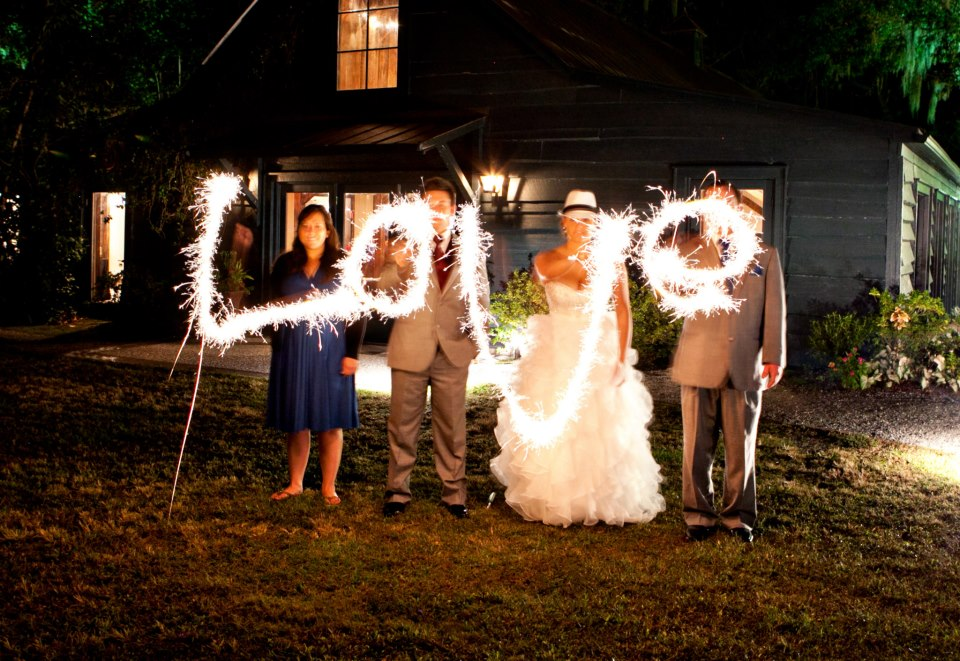 Charleston SC wedding planner – sparkler send off | Tanis J Events