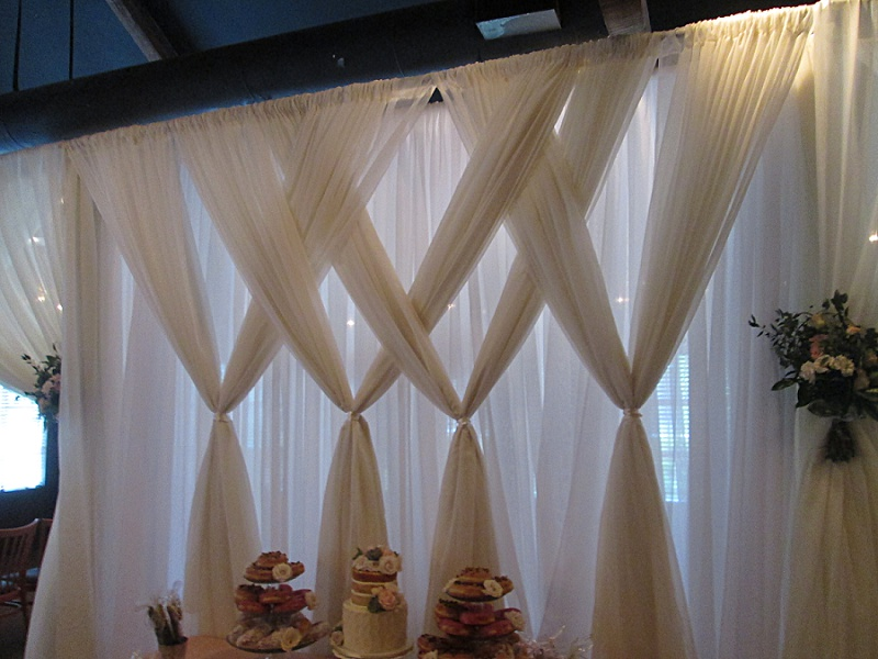 Backdrop Wedding Draping Design Tanis J Events