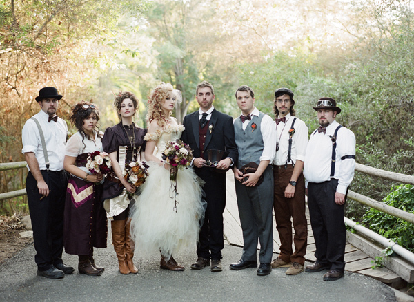 Charleston Wedding Reception- Steampunk wedding