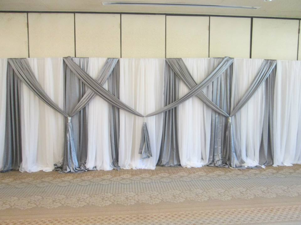 Charleston Wedding Reception Traditional Pipe And Drape